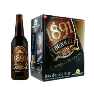Sonnenbräu 1891 dunkel 5% Vol. 6 x 50 cl EW Flasche