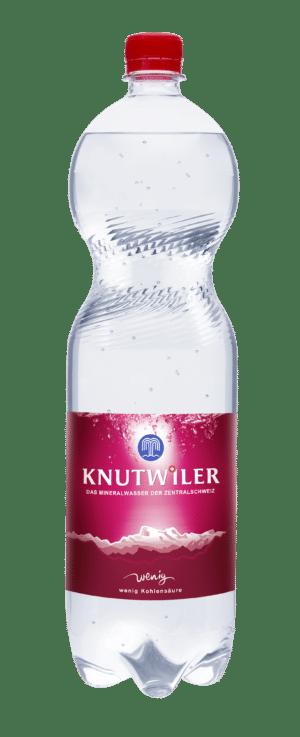 Knutwiler Mineral mit wenig Kohlensäure 6 x 150 cl PET