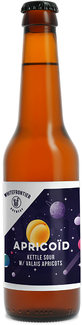 Whitefrontier Apricoid Kettle Sou 5,0% Vol. 12 x 33 cl EW Flasche