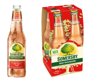 Somersby Red Rhubarb 4,5% Vol. 24 x 33 cl EW Flasche