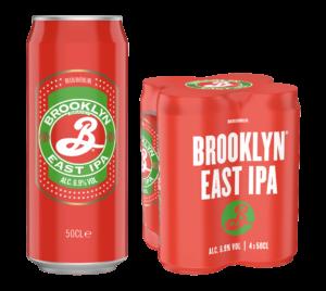 Brooklyn East India Pale Ale 6,9% Vol. 24 x 50 cl Dose