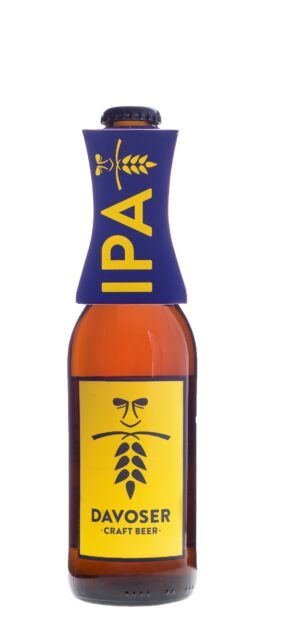 Davoser Craft Beer Special Edition IPA 33 cl EW Flasche