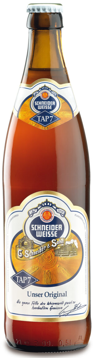 Schneider Weisse Original  TAP 7 12 x 50 cl EW Flasche