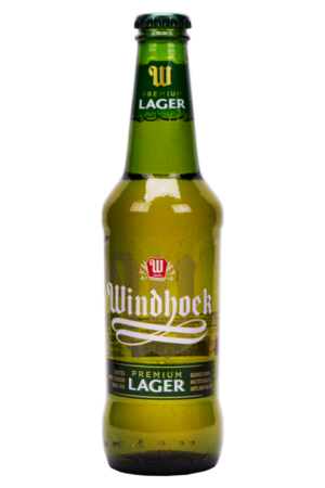 Windhoek Lager Beer 4% Vol. 24 x 33 cl EW Flasche Namibia