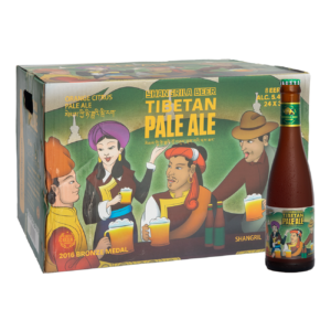 Shangri-La Tibetan Pale Ale 5.4% Vol. 24 x 33 cl EW Flasche China