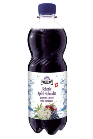 Holderhof Apfel-Holunder Schorle Bio 24 x 50 cl Pet