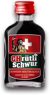 """Kreiere dein eigener Shot....... 30 Shots x 2 cl mit Geschmack """"ChrütliSchwur"""" 30% Vol."""