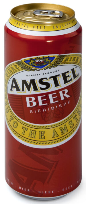 Amstel Premium Lager 5,0% Vol. 24 x 50 cl Dose Holland