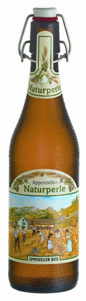 Appenzeller Naturperle Bio 15 x 50 cl MW Bügelflasche