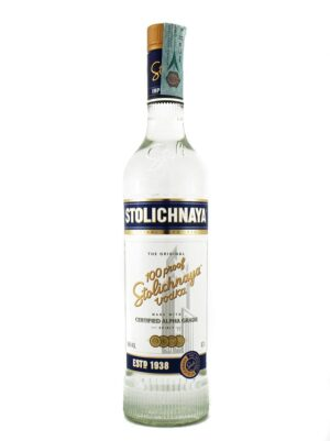 Vodka Stolichnaya Gold 40.0% Vol. 70cl