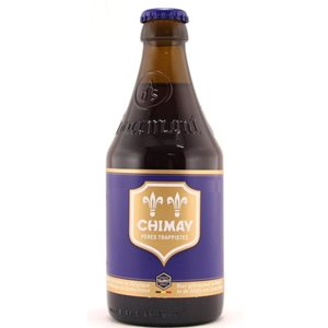 Chimay Brune Blue 9% Vol. 24 x 33 cl MW Flasche Belgien