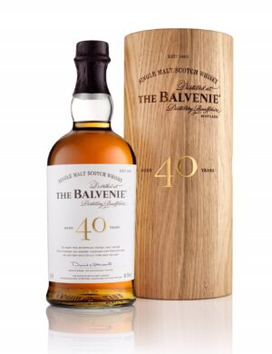 The Balvenie 40 Years Single Malt Whisky Old  48,5% Vol. 70 cl