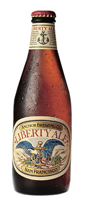 Anchor Liberty Ale 5,9% Vol. 24 x 35 cl EW Flasche Amerika