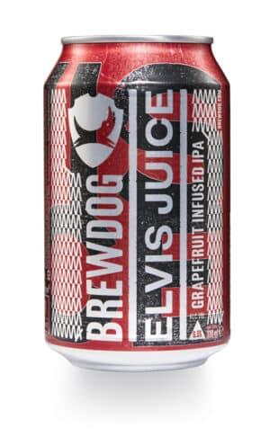 BrewDog Elvis Juice IPA 6,5% Vol. 24 x 33cl Dose Schottland