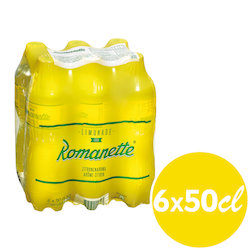 Romanette Citron 6 x 50 cl Pet