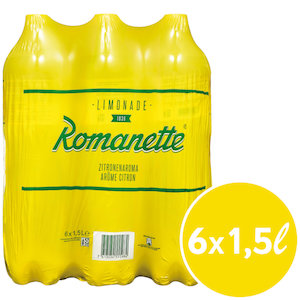 Romanette Citron 6 x 150 cl Pet