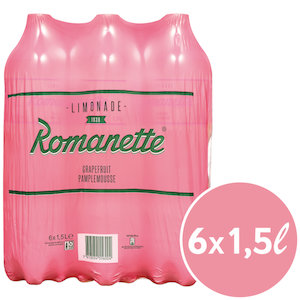 Romanette Grapefruit 6 x 150 cl Pet