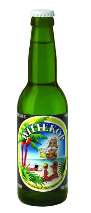 Wittekop hell Weizen / Weissbier 5,0% Vol. 33 cl EW Flasche Belgien