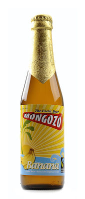 Mongozo African Banana Beer 3,6% Vol. 33 cl EW Flasche Belgien