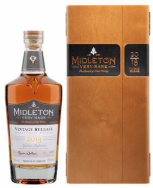 Midleton Distillery Irish Whiskey Very Rare 40% Vol. 70 cl Jahrgang 2018 Holzkiste