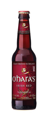 O'Hara's Irish Red 4,3% Vol. 24 x 33 cl EW Flasche Irland