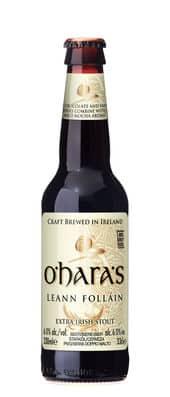O'Hara's Leann Folláin 6% Vol. 24 x 33 cl EW Flasche Irland (2 bis 5 Tage Lieferfrist möglich )