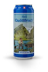 Appenzeller Quöllfrisch Hell 50 cl Dose