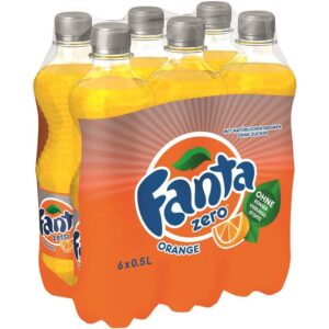 Fanta ZERO Orange 24 x 45 cl Pet