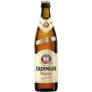 Erdinger Weissbier mit feiner Hefe 5,3% Vol. 20 x 50 cl MW Flasche
