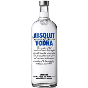 Absolut Vodka 40% Vol. 150 cl