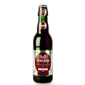 Möhl Saft vom Fass Trüb alkoholfrei 8 x 33 cl EW Flasche