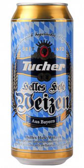 Tucher Hefeweizen Hell 5,2% Vol. 24 x 50 cl Dose