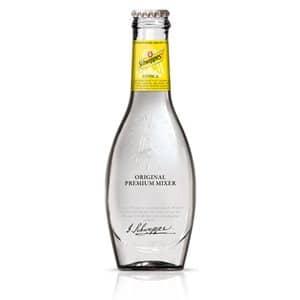 Schweppes Premium Mixer Tonic Original & Lime 24 x 20cl EW Flasche