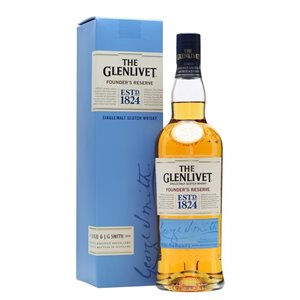 The Glenlivet Founders Reserve Pure Single Malt Whisky 40% Vol. 70 cl