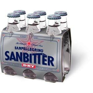 Sanpellegrino SANBITTER Dry Bianco 24 x 10 cl