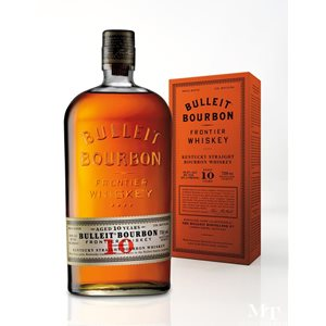 Whiskey Bulleit Straight Kentucky Bourbon 10 years 45,6% Vol. 70 cl