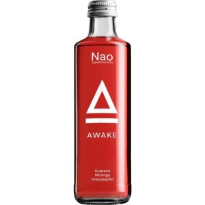 Nao Superfood Drink AWAKE Guarana 24 x 27,5 cl EW Flasche
