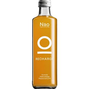 Nao Superfood Drink RECHARGE Passionsfrucht 24 x 27,5 cl