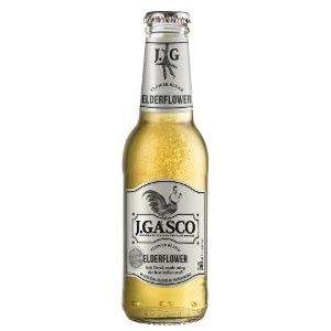 Gasco Elderflower 24 x 20 cl EW Flasche