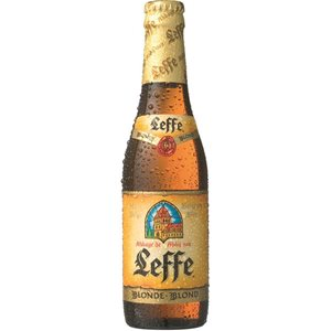 Leffe blonde Bier 6,6% Vol. 24 x 33cl EW Flasche Belgien