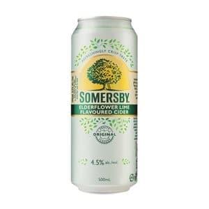 Somersby Elderflower Lime 4,5% Vol. 4 x 50 cl Dose