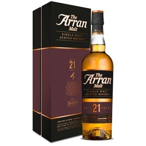 Whisky Arran Single Malt 21 years old 46° Isle of Arran 46% Vol. 70 cl