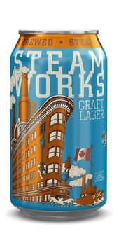 Steamworks Craft Lager 5,0% Vol. 24 x 36 cl Dose Kanada