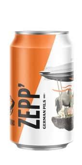 Nébuleuse Zepp Lager / Premium 4,7% Vol. 24 x 33 cl Dose