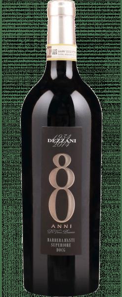 Dezzani, Barbera d'Asti Superiore DOCG «80 Anni», 14.5 % Vol., 75 cl, 2015