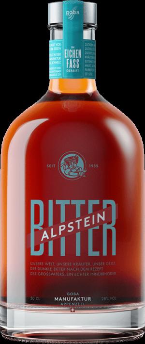Bitter Alpstein Goba Manufaktur 28% Vol. 50 cl
