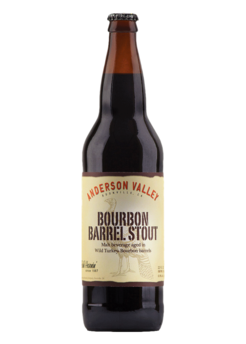 Anderson Valley Bourbon Stout Barrel Aged 6,9% Vol. 6 x 65 cl EW Flasche Amerika