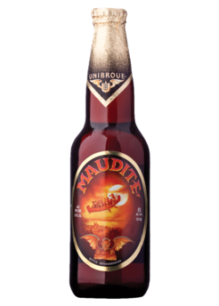 Unibroue Maudite 8,0% Vol. 24 x 33cl EW Flasche Kanada