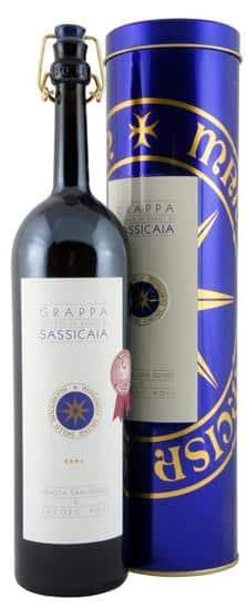Grappa Barili di Sassicaia Tenuta San Guido MO Bolgherie 40% Vol. 50 cl