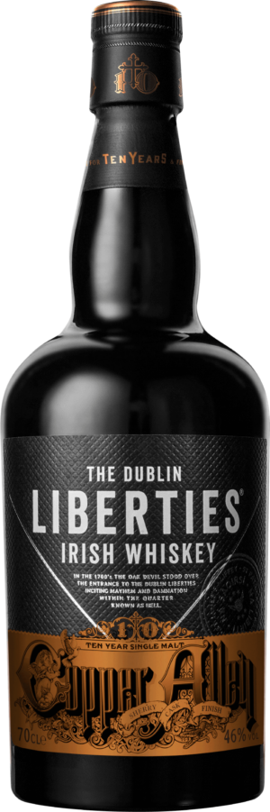 Dublin Liberties Whiskey Irish Copper Alley 46% Vol. 70 cl Irland